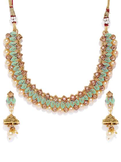 bf6219fe1 Artificial Jewellery Set - Buy Artificial Jewellery Set online in India