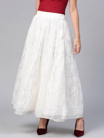 6e01f0e24 Long Skirts - Buy Long Skirts Online in India