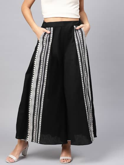1469f2d362 Palazzo Pant - Buy Latest Palazzo Pants Online in India | Myntra
