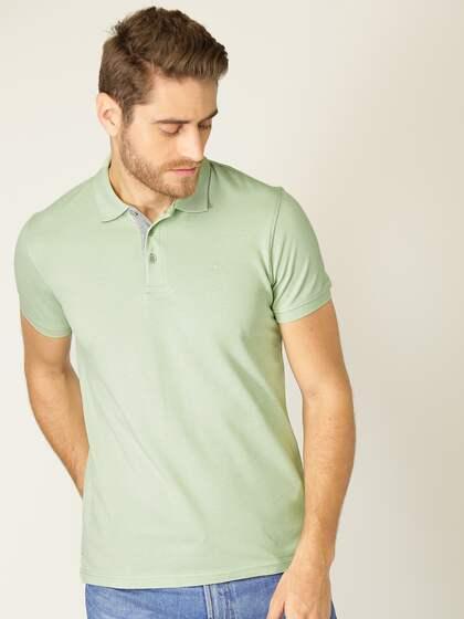 3538d5ebf Collar T-shirts - Buy Collared T-shirts Online | Myntra
