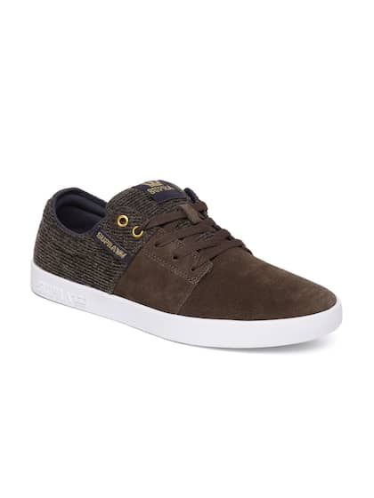 f0d2fe11364b Supra Brown Shoes - Buy Supra Brown Shoes online in India