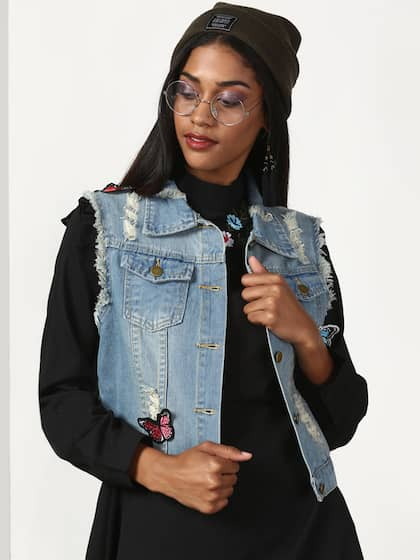 6e89f545e7ebf Denim Jacket - Buy Denim Jacket Online - Myntra