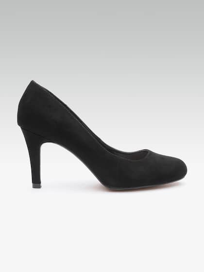 66bbab593bc4 Black Heels - Buy Black Heels Online in India