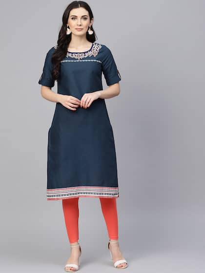 44ff673478c Denim Kurtas - Buy Denim Kurtas online in India