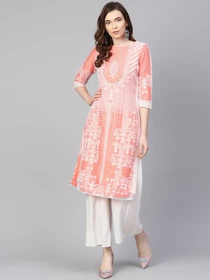 4419fcdb4 Ladies Kurtas - Buy Kurtas for Women Online in India   Myntra