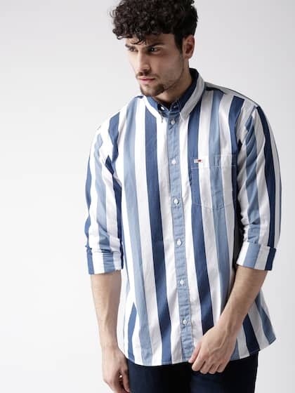05d80b07e Tommy Hilfiger Button Down Collar Topwear - Buy Tommy Hilfiger ...