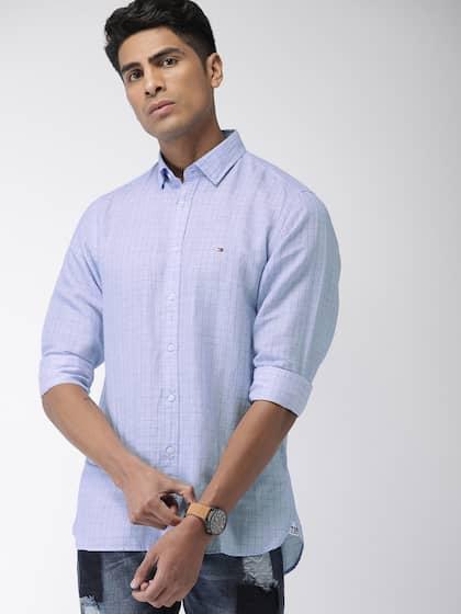 8f73e652692 Tommy Hilfiger Linen Shirts - Buy Tommy Hilfiger Linen Shirts online ...