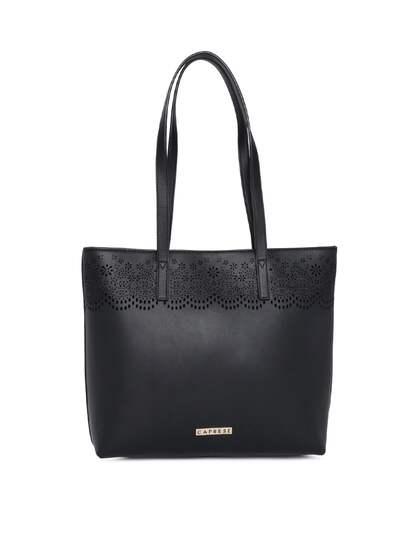 Caprese Solid Shoulder Bag