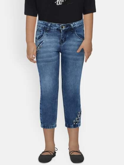 cbafebf92c627 Girls Jeans - Buy Jeans for Girls Online in India - Myntra