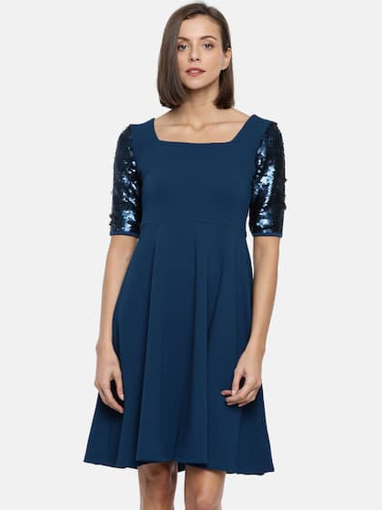 72a2fcef5f8e Code By Lifestyle Solid Dresses - Buy Code By Lifestyle Solid ...