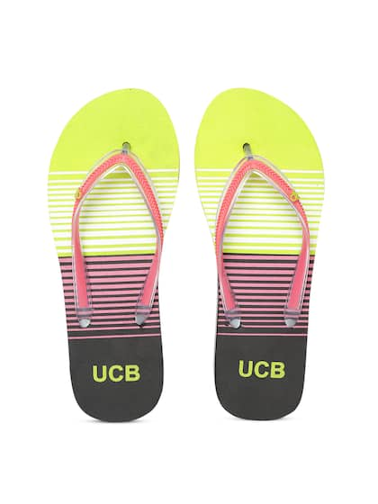 efd6269896c3 United Colors of Benetton. Women Striped Thong Flip-Flops