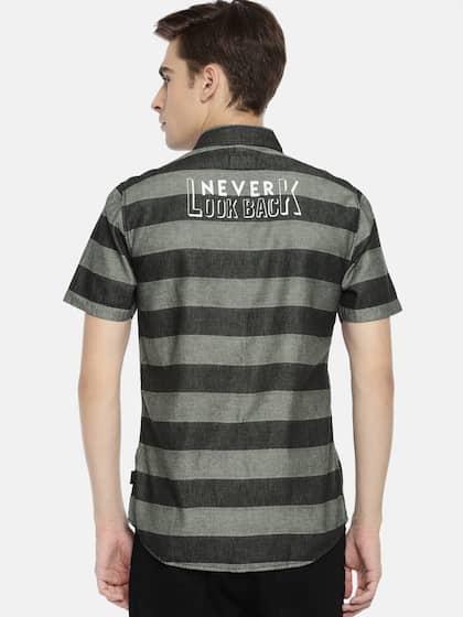 6dfe4b72 Wrangler Shirts - Buy Shirts from Wrangler Online | Myntra