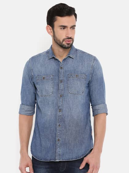 31a3f90e Wrangler Shirts - Buy Shirts from Wrangler Online | Myntra