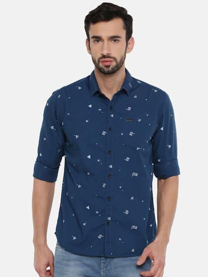 4d1514a0bb9 Wrangler Shirts - Buy Shirts from Wrangler Online | Myntra