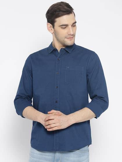 a402c4390 Wrangler Shirts - Buy Shirts from Wrangler Online | Myntra