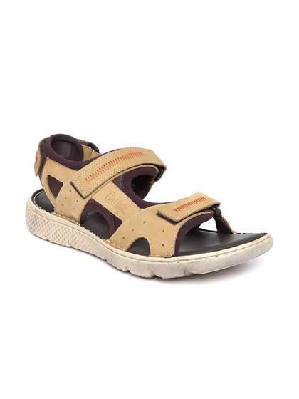 7ffe0cf20defbd Lee Cooper Brown Sandals - Buy Lee Cooper Brown Sandals online in India