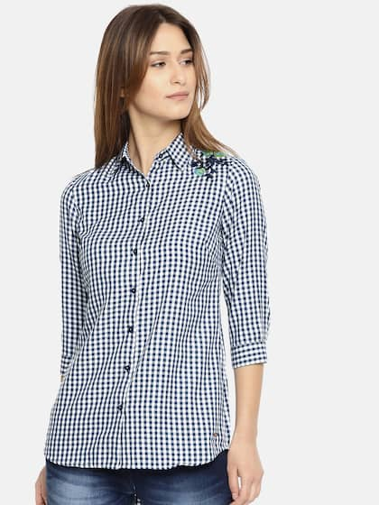 d8c201c0c3b Park Avenue Women Shirts - Buy Park Avenue Women Shirts online in India