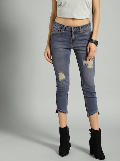 8ed07e14147 Ripped Jeans - Shop for Ripped Jeans Online in India | Myntra