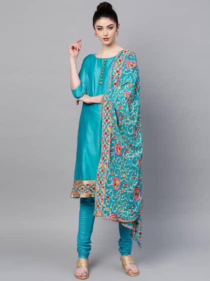 ebe351fcd3b Dress Materials - Buy Ladies Dress Materials Online in India