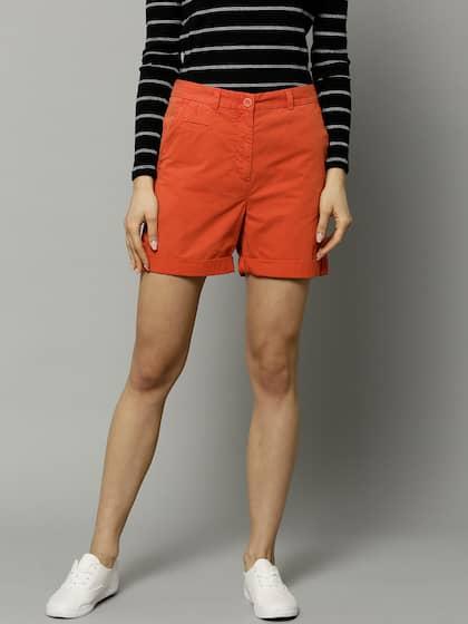 b4e47bdc4 Skirts   Shorts for Women - Buy Ladies Shorts   Skirts Online - Myntra