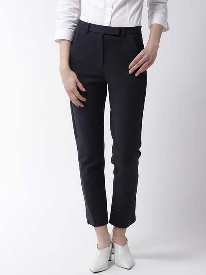 1dee57c3e5cda Women's Trousers - Shop Online for Ladies Pants & Trousers in India ...