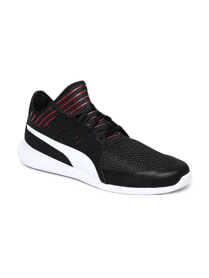 698e745491a23 Black Casual Shoes - Buy Black Casual Shoes Online in India