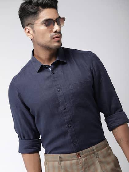 7d4a8aaa64 Indian Terrain Linen Shirts - Buy Indian Terrain Linen Shirts online ...