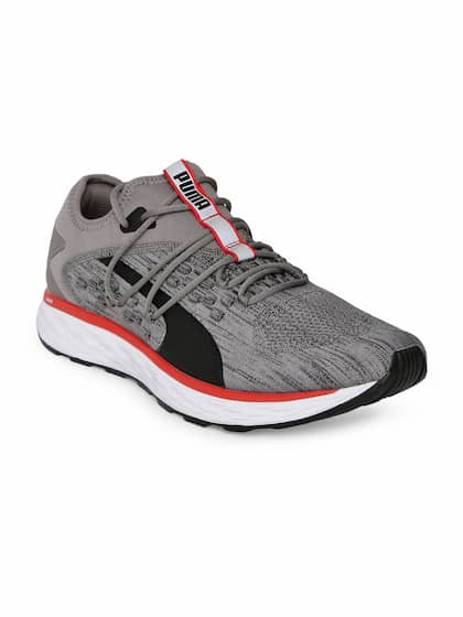 timeless design 2a912 5aefc Puma Men Grey SPEED 600 FUSEFIT Running Shoes