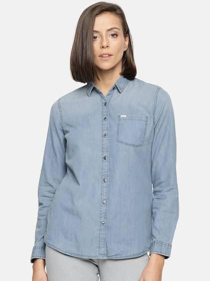 ab09259e19d Women Shirts - Buy Shirts for Women Online in India