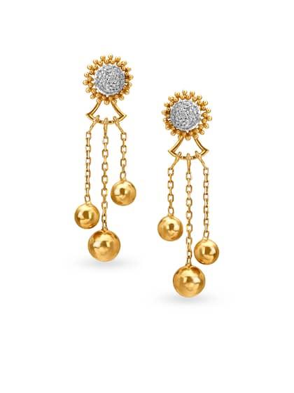 Mia by Tanishq 14KT Earrings Diamond