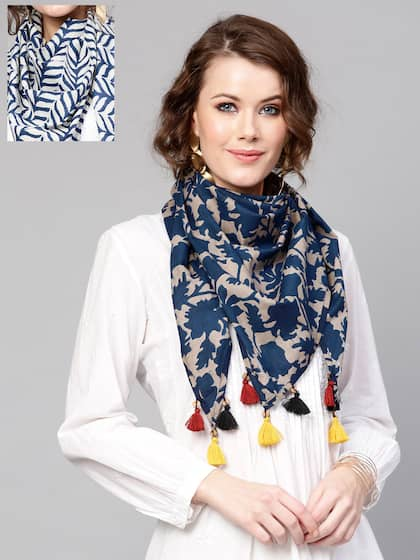 1f3bf6881a SASSAFRAS. Pack of 2 Printed Scarves