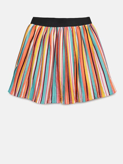 831f54088231 Fame Forever by Lifestyle. Girls Striped Flared Skirt