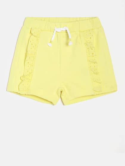 58aa2341d26ec6 Shorts For Girls- Buy Girls Shorts online in India - Myntra