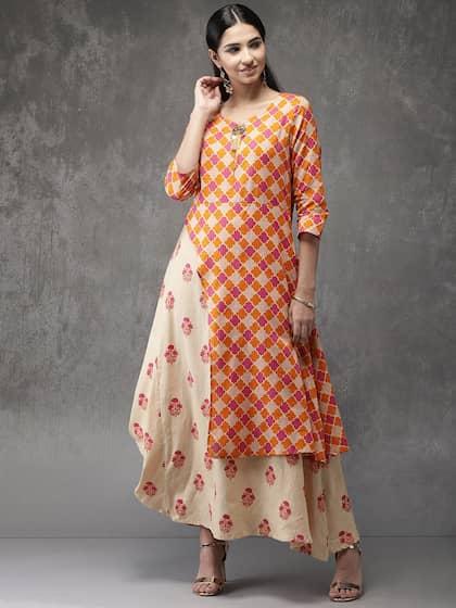 0600d81e209 Layered Kurtas - Buy Layered Kurtas online in India
