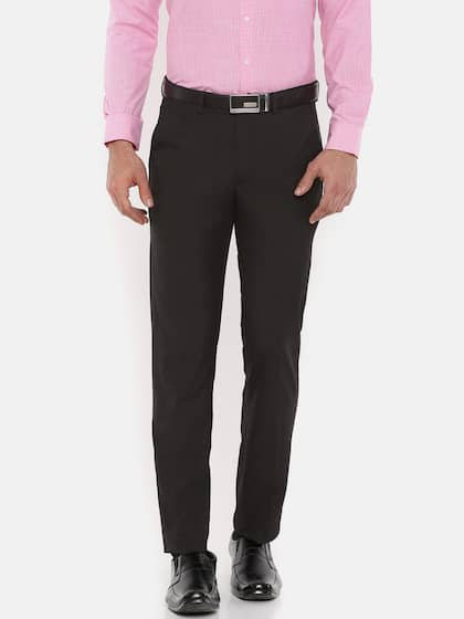 a99e4f6db0 Peter England Trousers - Buy Peter England Trousers Online in India