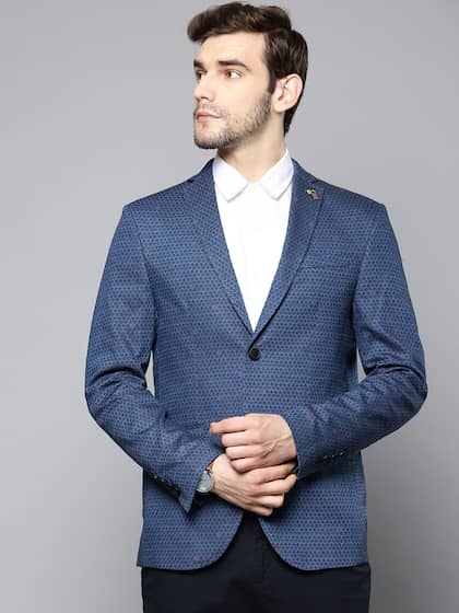Blazers For Men Buy Men Blazer Online In India At Best Price Myntra