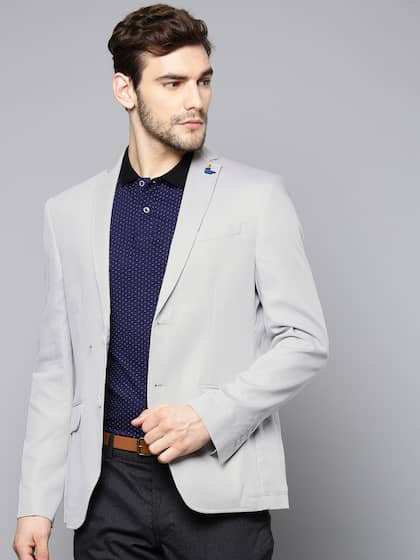 ccf3bfbe5733 Slim Fit Blazers | Buy Slim Fit Blazers Online in India
