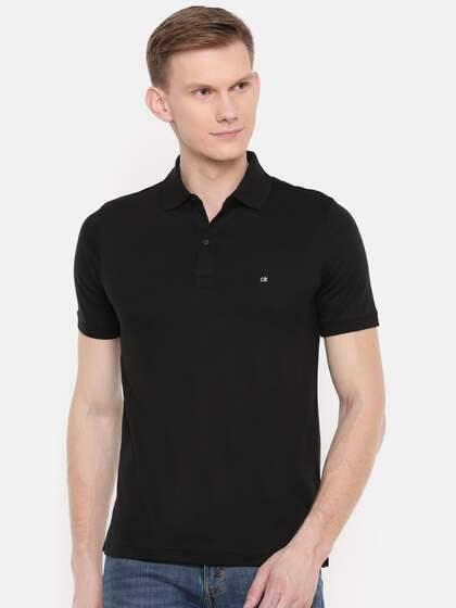 9ee90e8df9152 Calvin Klein Jeans. Solid Polo Collar T-shirt