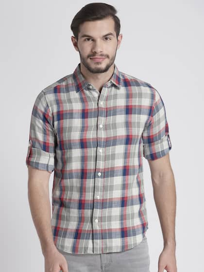 dfbd45719ce Casual Shirts for Men - Buy Men Casual Shirt Online in India