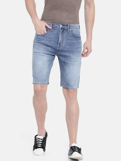 549a17d343f1 Calvin Klein Jeans · Men Regular Fit Denim Shorts