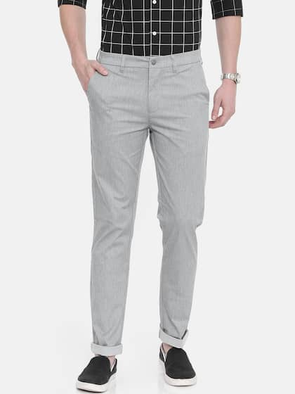 d447aeb5a21096 Casual Trousers - Buy Casual Trousers Online in India