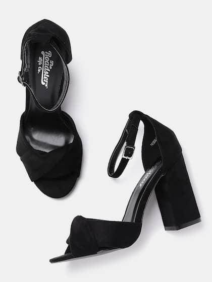 067d26868 Black Heels - Buy Black Heels Online in India