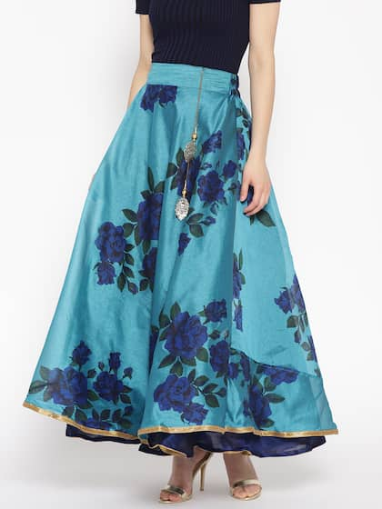 5fda6ed16 Ethnic Long Skirts - Buy Ethnic Long Skirts Online | Myntra