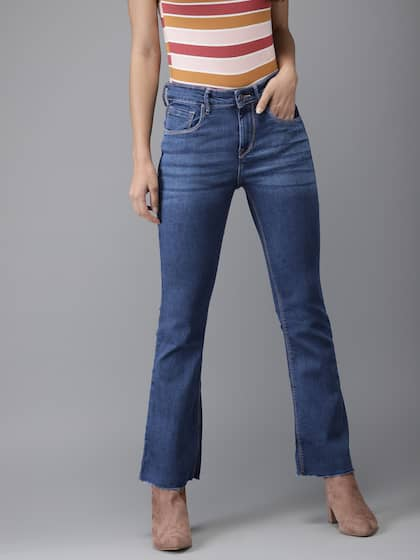 37a6d0f03ae Bell Bottom Jeans - Buy Bell Bottom Jeans Online in India