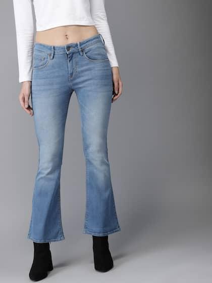 77baa1f7da7 Moda Rapido. Women Blue Bootcut Jeans
