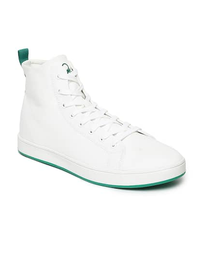 aa7425e674 White Shoes - Buy White Shoes Online in India