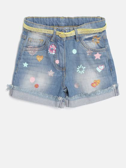 897030df7ae Shorts For Girls- Buy Girls Shorts online in India - Myntra