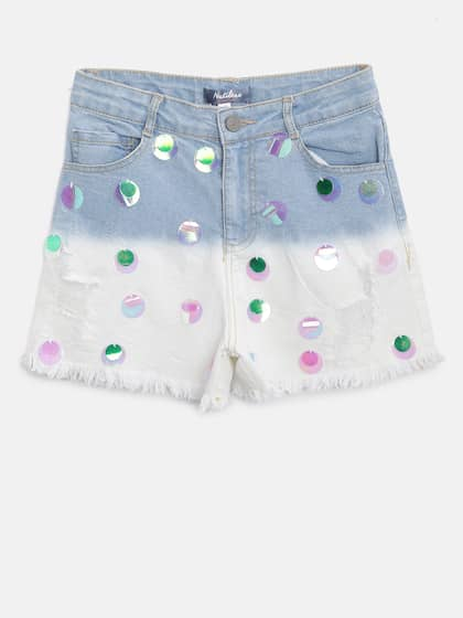 f4175c9ffd94 Shorts For Girls- Buy Girls Shorts online in India - Myntra