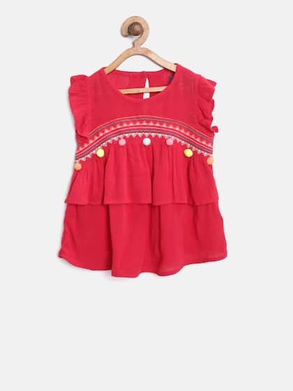 ee37de6aa Girls Tops - Buy Stylish Top for Girls Online in India