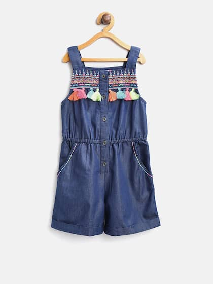 128c401b34 Jumpsuit For Girls- Buy Girls Jumpsuit online in India